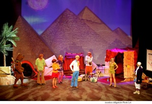 2. Scooby-Doo And The Mystery Of The Pyramid © Photo Lot